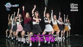 [ENG SUB] 161027 M Countdown - I.O.I Dance Together Full Cut