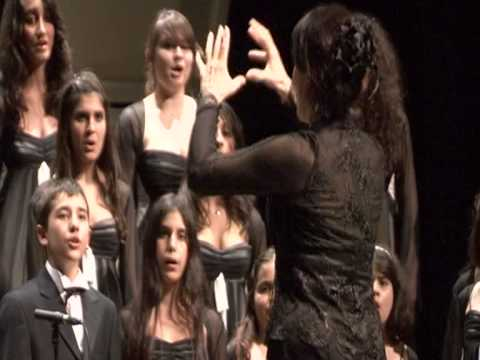 Full of energy - Ludo Claesen - Children Poliphonic Choir - Ankara (Turkije).VOB