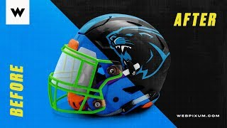 How to Design a Helmet with Webpixum Mockup in Photoshop