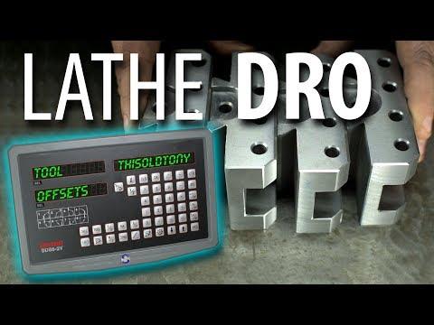 DRO BASICS? & Lathe Tool Offsets!! (SINO DRO)