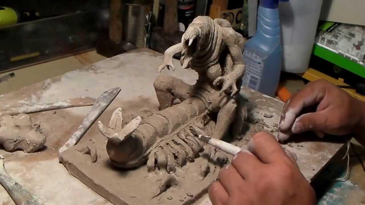 Gut gemocht Modelage et sculpture en argile (Technique de base) par Sébastien  ZD83