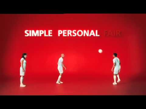 Santander ITV World Cup Sponsorship Ad - Simple Personal Fair