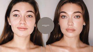 Пошаговый урок МАКИЯЖ NUDE Эффект сияющей свежей ухоженной кожи Как после косметолога