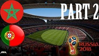 MAROKO VS. PORTUGALSKO | FIFA 18 - World Cup Russia #2