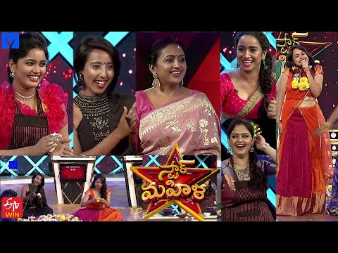 Star Mahila Show From 17th August 2020 in etv telugu at 12:30 PM -  Mallemalatv - Suma Kanakala