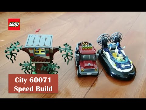 Lego City 60071 Hovercraft Arrest Speed Build Rc Insight