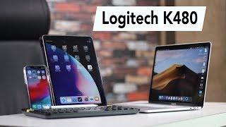 Logitech K480 Review - Multi-Device Wireless Keyboard