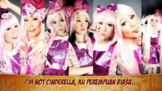 Cherrybelle - Bukan Cinderella (Lyric Video)