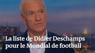 Coupe du Monde : voici la liste de Didier Deschamps pour l'équipe de France