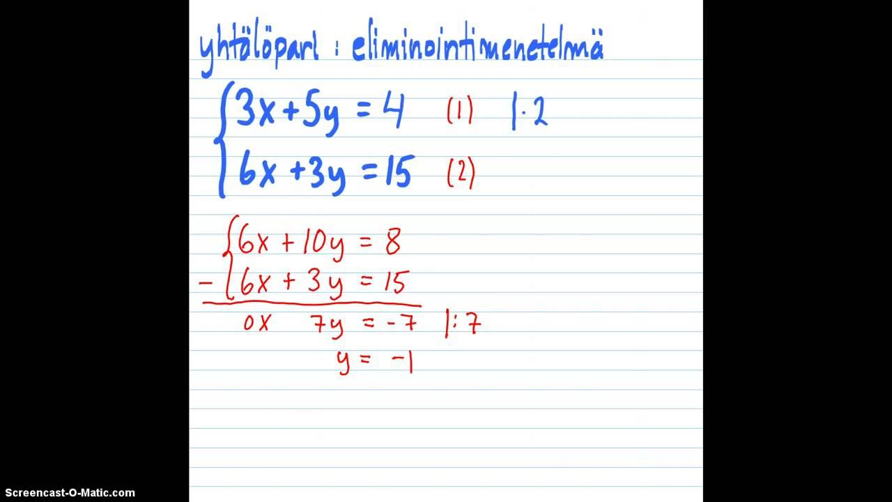 Matematiikka Testi Netissä