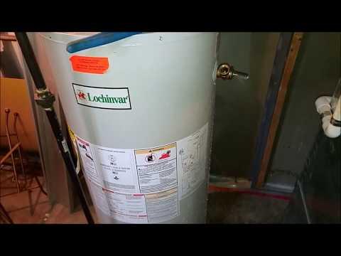 Lochinvar Hot Water Heater Missing Dip Tube