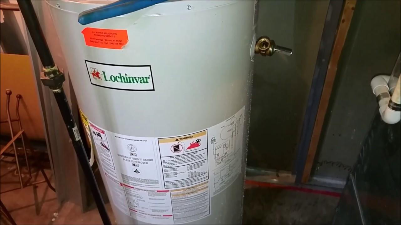 Lochinvar Heater Facias