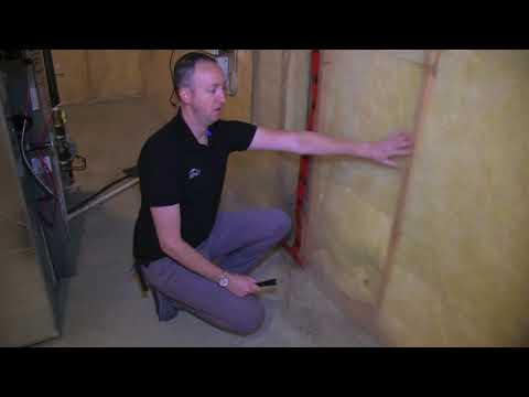 On The Money Calgary Home Inspections - Vapour Barrier