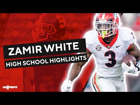 No. 1 running back Zamir White - Senior highlights