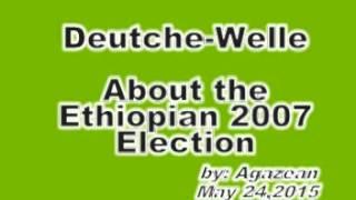 Ethiopian Election Deutschwelle calling violence