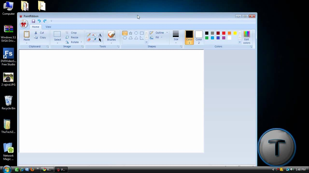 install microsoft paint for windows xp