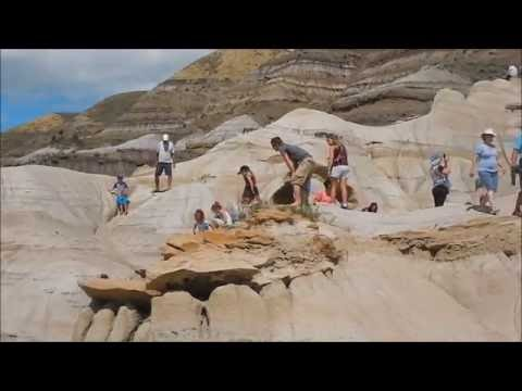 Dinosaur Park in Alberta, Badlands