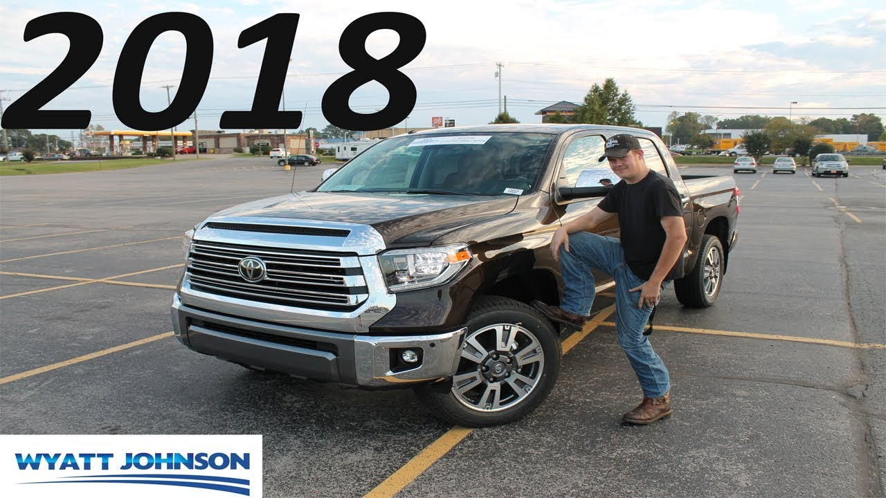 2018 Toyota Tundra 1794 Edition THE SAFEST TRUCK IN THE WORLD