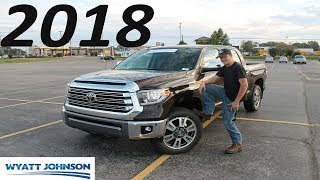 2018 Toyota Tundra 1794 Edition: THE SAFEST TRUCK IN THE WORLD?!