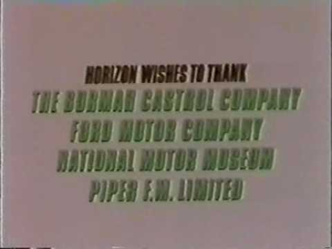 BBC Horizon 1981 Gentlemen, lift your skirts Ground Effect & Cosworth DFV Part 7 of 7