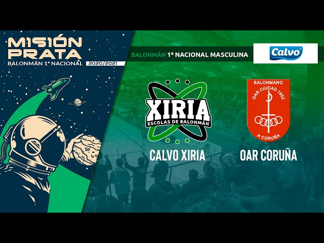 CALVO XIRIA - OAR CORUÑA [1ª NACIONAL]