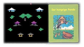 Der Hungrige Panda (Atari 2600/1983) - Pandas im Nebel