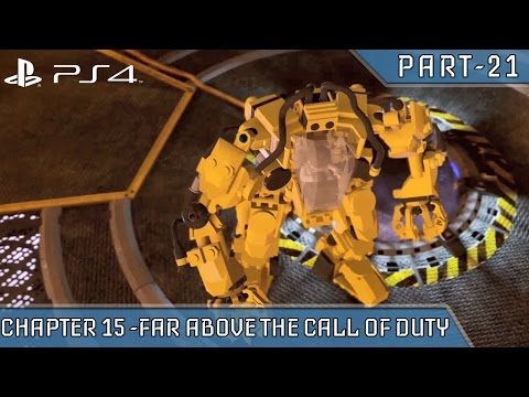 Lego City Undercover Gameplay PS4 CHAPTER 15 FAR ABOVE THE CALL OF DUTY