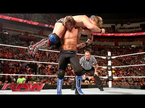 AJ Styles vs. Chris Jericho: Raw, January 25, 2016