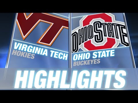 Virginia Tech vs Ohio State | 2014 ACC Football Highlights