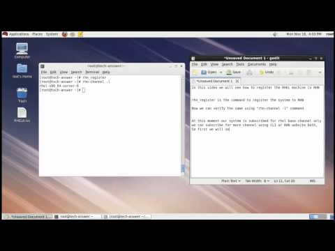 How to Register RHEL Server to RHN and Subscribe for RHN Channels [ RHN Classic Registration ]