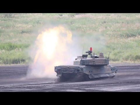 陸上自衛隊 平成28年度 富士総合火力演習 実弾射撃訓練