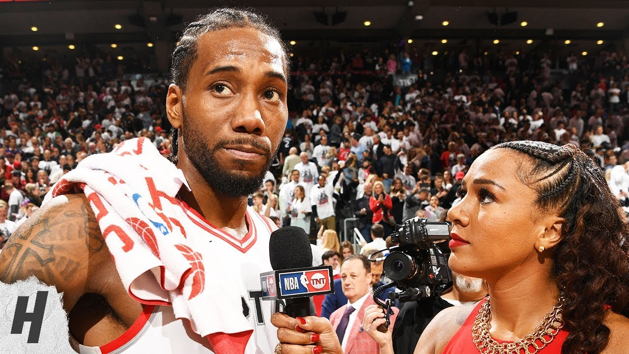 Kawhi Leoanrd Postgame Interview - Game 7 | 76ers vs Raptors | 2019 NBA Playoffs
