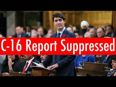 Canada Suppressing Bill C-16 Impact Report