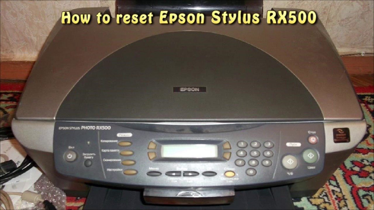 EPSON STYLUS RX500 WINDOWS 10 DOWNLOAD DRIVER