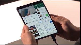 GALAXY FOLD: Samsung stellt aufklappbares Smartphone vor