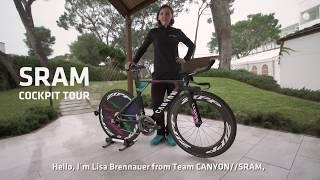 SRAM Cockpit Tour - Lisa Brennauer