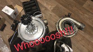 How to Install a billet turbo wheel on a DURAMAX