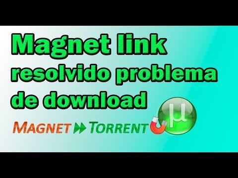 Magnet link- resolvendo problema de...