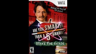Nintendo Wii Are You Smarter Than a 5th Grader? 2nd Run Game #1