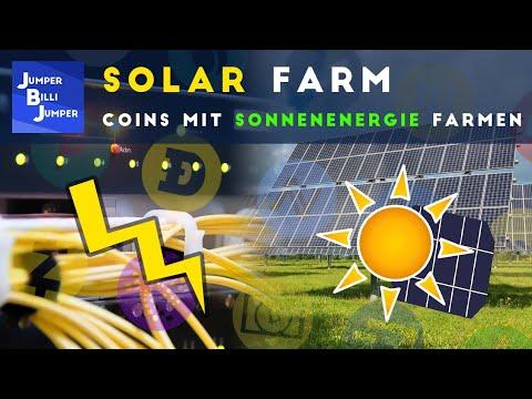 Meine kleine Solar Farm