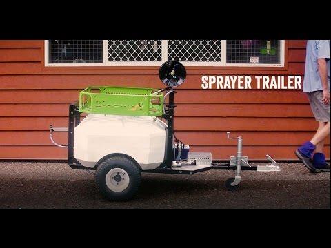 ATV Sprayer Trailer | How It Works (300L Boomless Jet option)