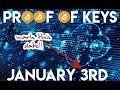😱 Are crypto exchanges stealing your bitcoin? January 3rd Proof of Keys 🔑