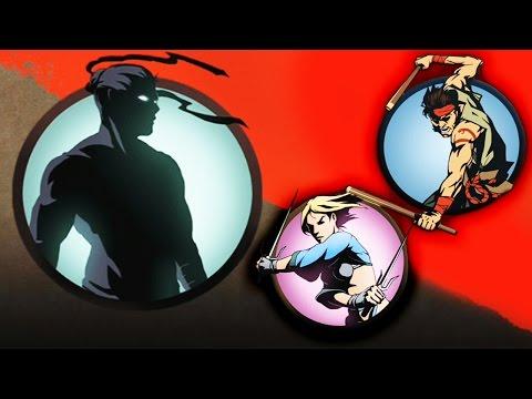 ПОЛОМАЛ ИГЛУ Бой с тенью Игровой мультик Видео для детей Shadow Fight 2
