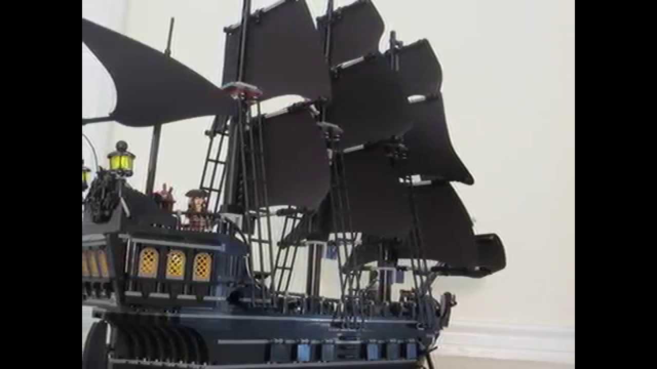 Lego Black Pearl Youtube