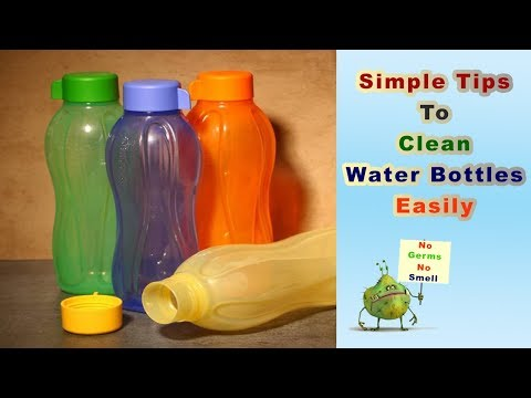 How to Clean Tupperware Bottles in perfect way || How to Clean Water Bottles in telugu||kitchen tips