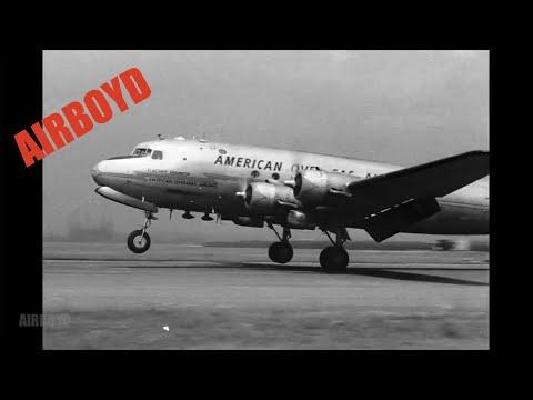 American Overseas Airlines At LaGuardia Airport