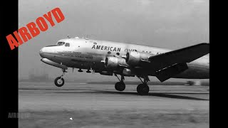 American Overseas Airlines At LaGuardia Airport