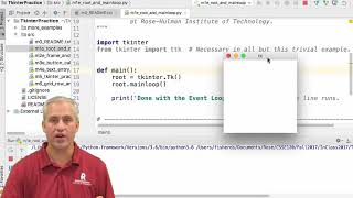 Python ev3dev - 03 MQTT - 02 Tkinter root window