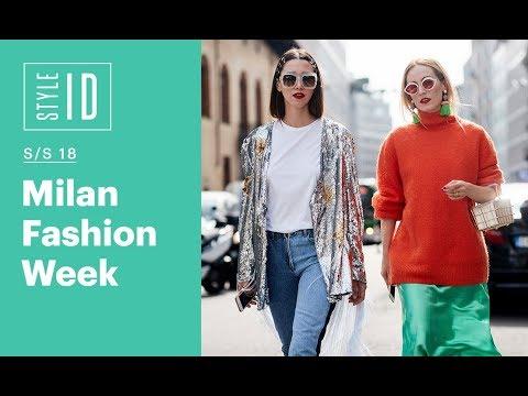 Style ID: Milan Fashion Week S/S 18