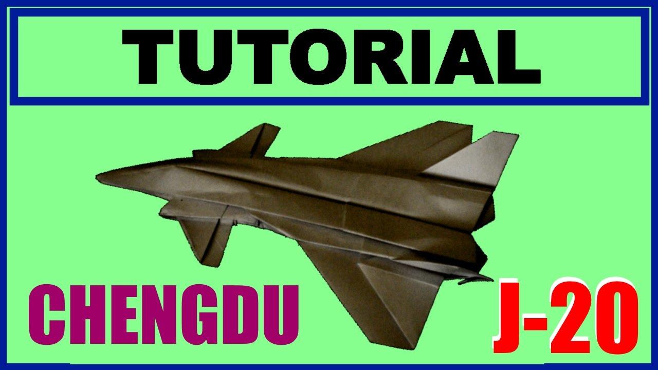 origami j-20
